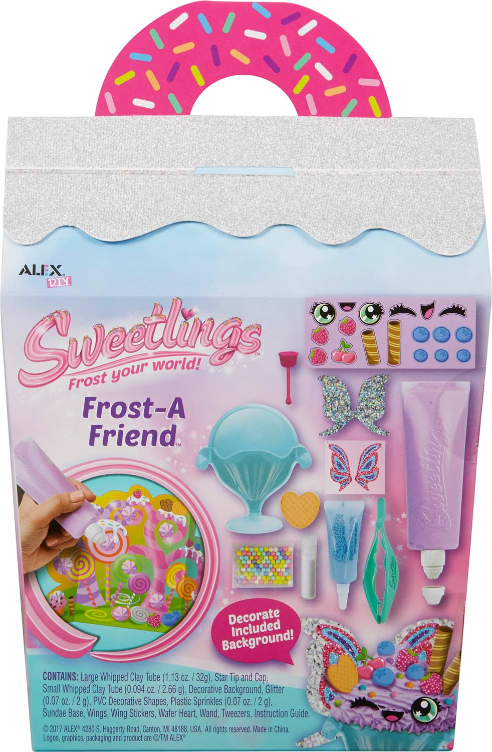 ALEX DIY Sweetlings Frost-A Friend SUNDAE SPARKling