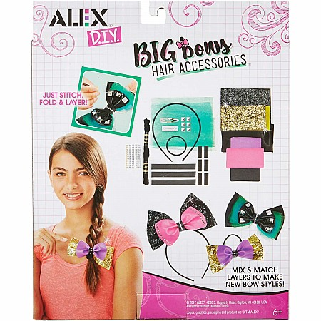 ALEX DIY Big Bow's Hair Accessories