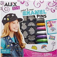 ALEX Toys DIY Paint and Wear Enamel Pins