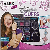 ALEX DIY Weave and Wear Metallic Cuffs