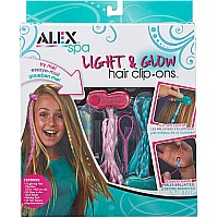 ALEX Spa Light and Glow Hair Clip Ons