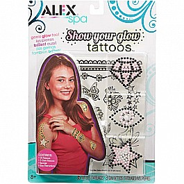 ALEX Spa Show Your Glow Tattoos
