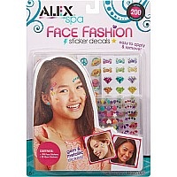 ALEX Spa Face Fashion Sticker Decals