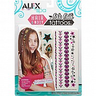 ALEX Spa Hair and Body Fab Foil Tattoos