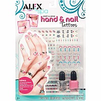 ALEX Spa Paint and Layer Hand and Nail Tattoos