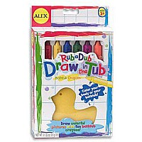 Draw In the Tub Crayons with Eraser