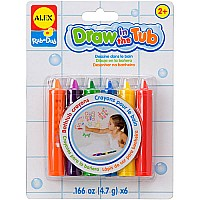 ALEX Toys Bath Draw in the Tub Crayons