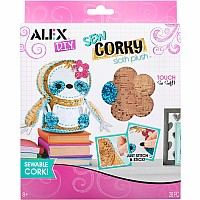 ALEX DIY Sew Corky Sloth Plush