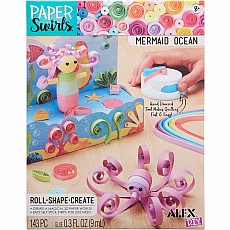 Paper Swirls Mermaid Ocean