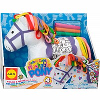 Color and Cuddle Washable Pony by Alex