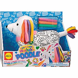 Color & Cuddle Washable Poodle