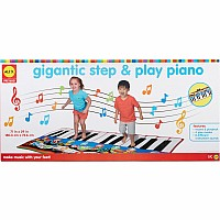 ALEX Pretend Gigantic Step and Play Piano