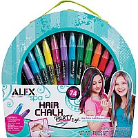 ALEX Spa Hair Chalk Party 2 Go