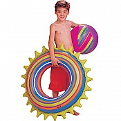 Spiky Tube and Beach Ball