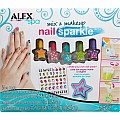 ALEX Spa Mix and Make Up Nail Sparkle Kit