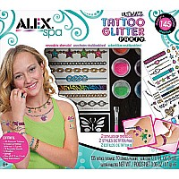 ALEX Spa Ultimate Glitter Tattoo Party Craft Kit