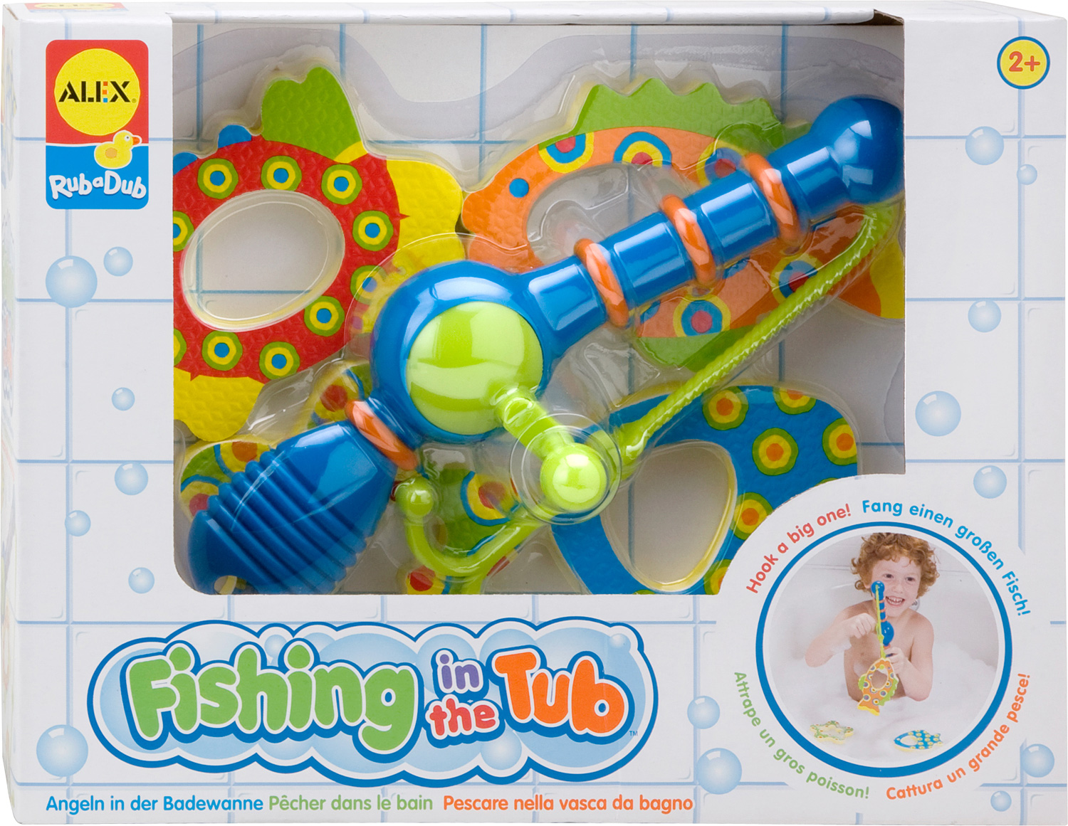 Rub a dub fishing in the tub timbuk toys for A fish in the bathtub