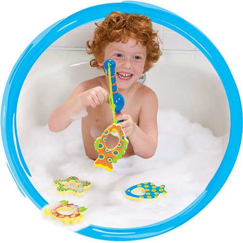 Fishing in the tub amazing toys for A fish in the bathtub
