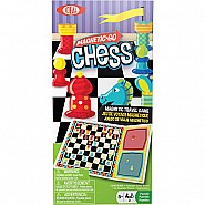 Ideal Magnetic Go! Chess Travel Game