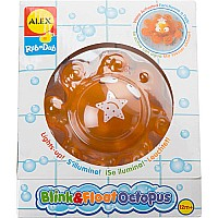 ALEX Toys Rub a Dub Blink and Float Octopus