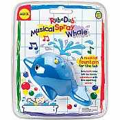 Rub A Dub Musical Spray Whale