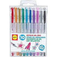 ALEX Toys Artist Studio 10 Metallic Gel Pens