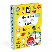 Janod Magnetibook Learn to Tell the Time