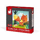 Forest Animal Puzzle Blocks