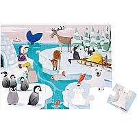 Janod Tactile Puzzle -Life on the Ice