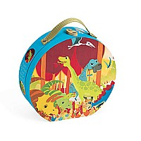 Janod Hat Box Puzzle-Dinosaurs