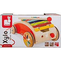 Janod Red Xylo Roller Toy
