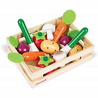 Janod 12 Vegetables Crate