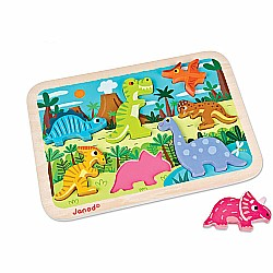Janod Dinosaurs Chunkly Puzzle