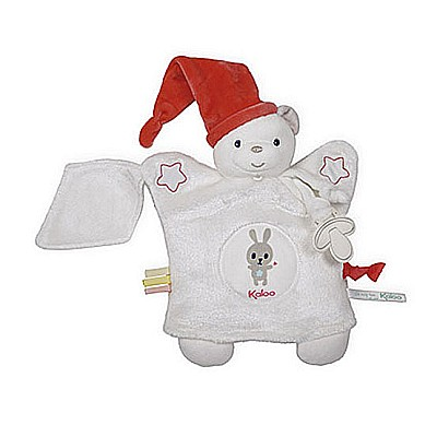 Kaloo Imagine Doudou Puppet Bear ヨ White