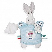 Kaloo Imagine Doudou Puppet Rabbit - Aqua