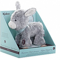Kaloo Les Amis 2-in-1 Pull Along Donkey-Grey