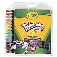 Colored Pencils Twistables 30Ct (6/ 24)