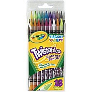 Twistables Colored Pencils 18Ct