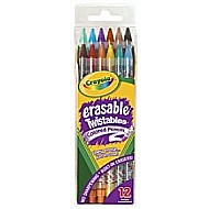 Twistable Erasable Colored Pencils 12Pk
