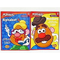 Pre-k Play School  Mr Potato Head Workbooks 32pg (36)