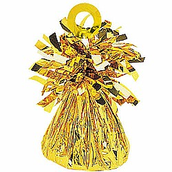 Small Foil Balloon Weight Gold