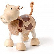 Sustainable Wood Cow
