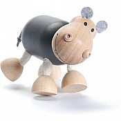 Sustainable Wood Hippo