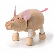 Sustainable Wood Pig
