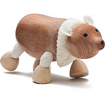 Sustainable Wood Polar Bear