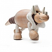 Sustainable Wood Triceratops