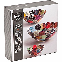 Craft Crush Paper Bowls Kit