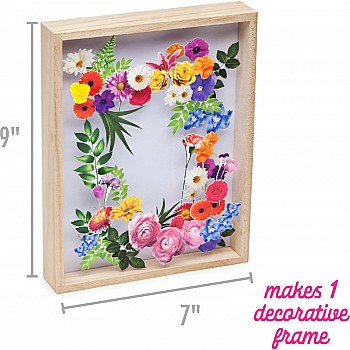 Craft Crush DIY Flower Art