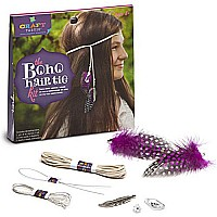 Craft-tastic Boho Hair Tie Kit