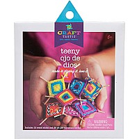 Teeny Ojo de Dios - Craft Kit (God's Eyes)